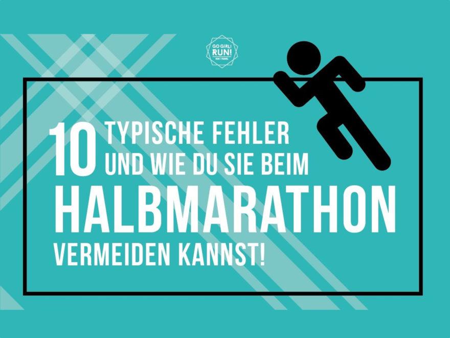 10 Halbmarathon Fehler