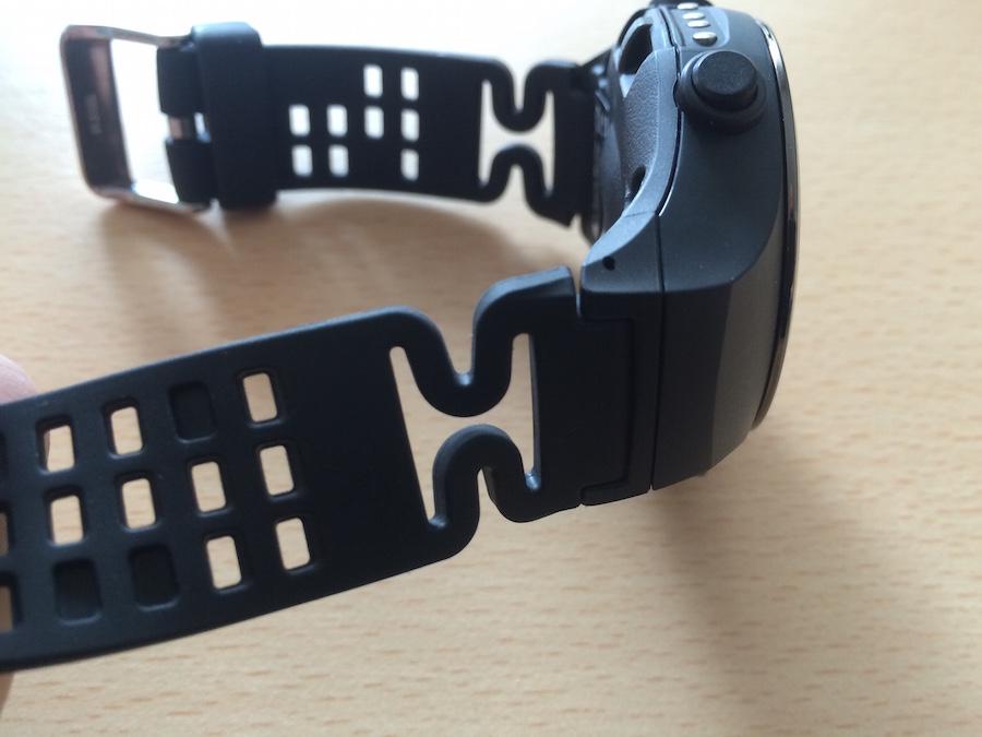 Armband der Uhr