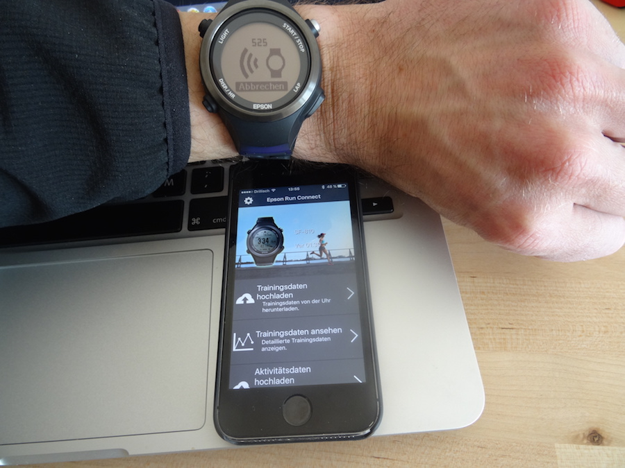 Sync mit App