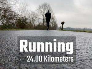24 Kilometer Lauf - 20 Kilometer Wahnsinn